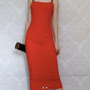 Bold & Elegant Red Dress